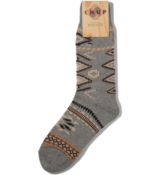 CHUP Grey Ganado Socks