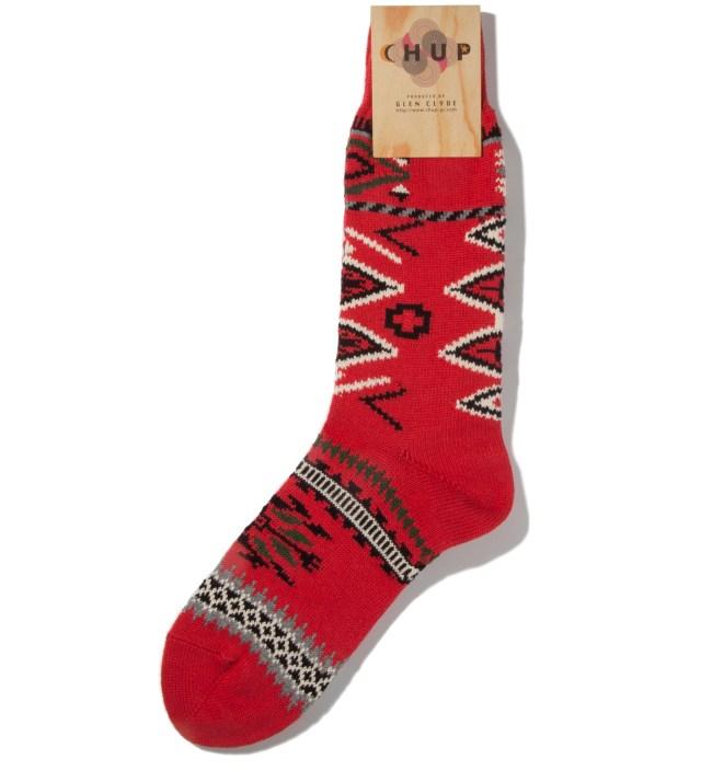 CHUP Red Ganado Socks