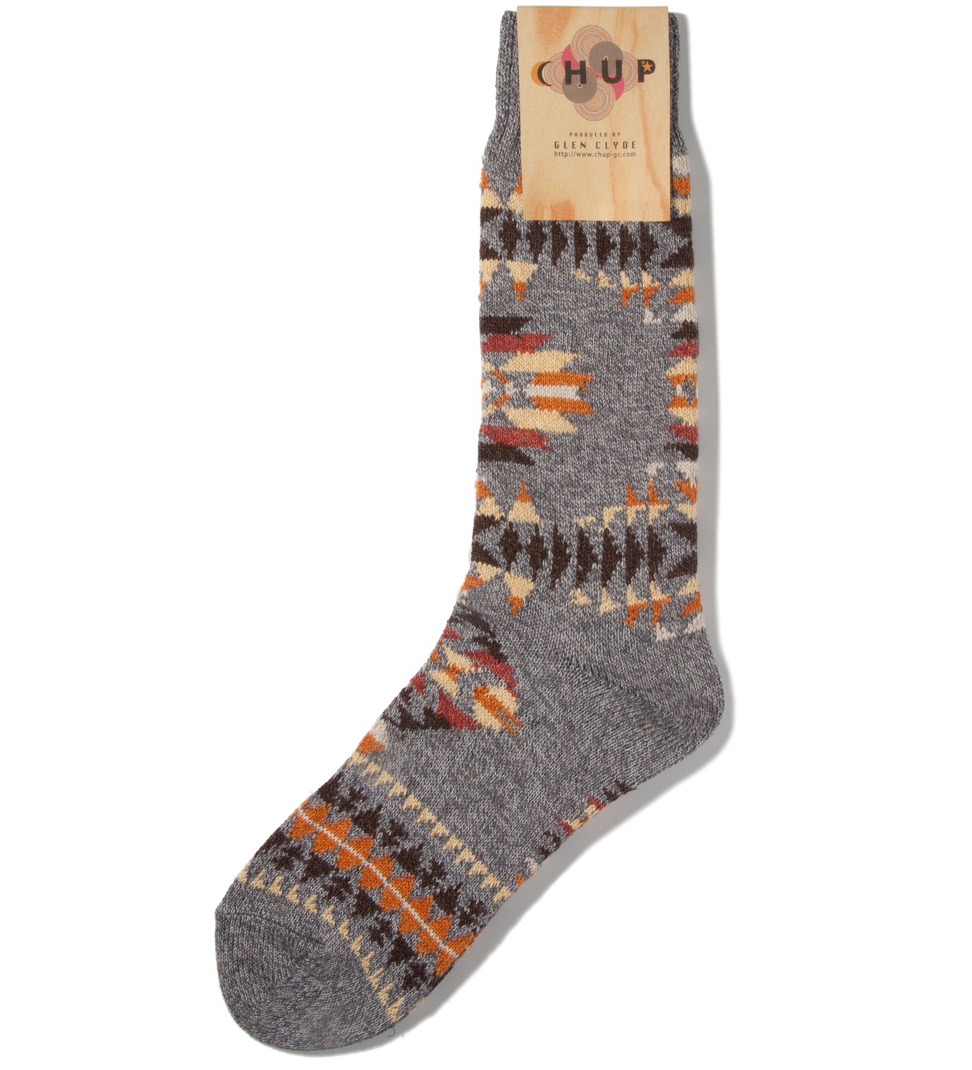 CHUP Grey Serape Socks