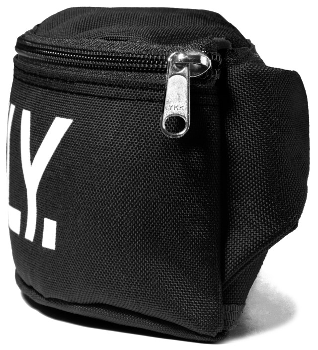 ONLY NY Black Logo Fanny Pack