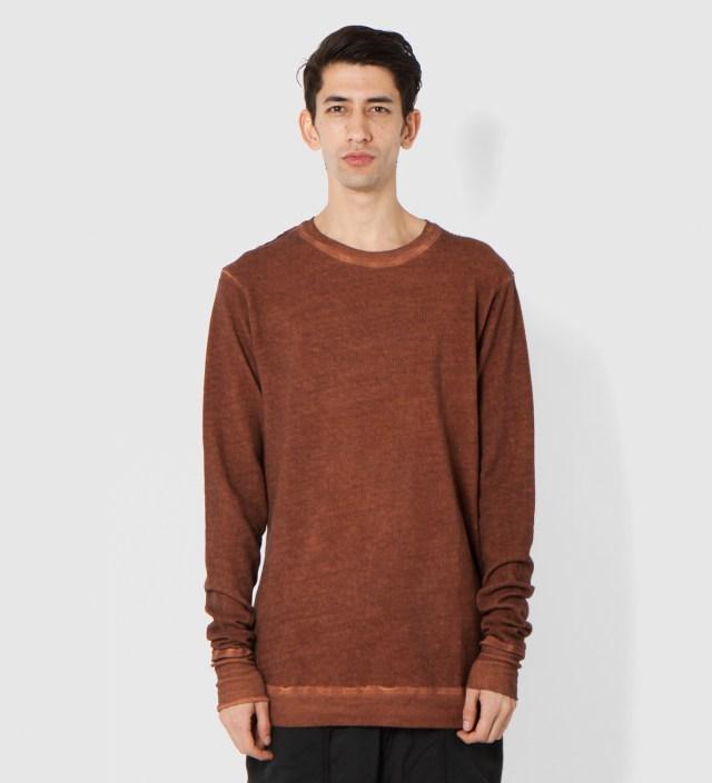 SILENT DAMIR DOMA Rust Tener Basic Sweatshirt