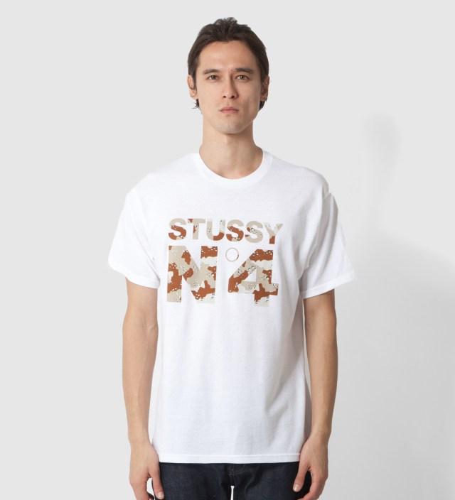Stussy White Desert No 4 T-Shirt