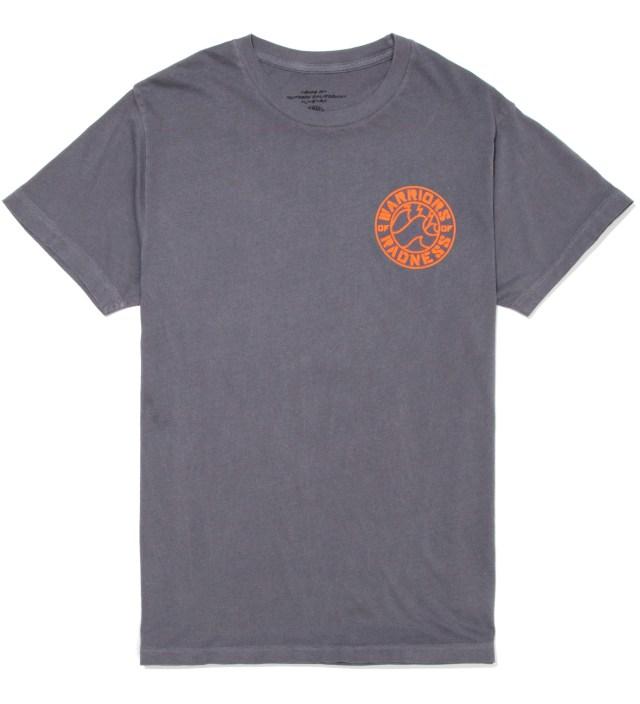 Warriors of Radness Iron Grey Strikers Stencil T-Shirt