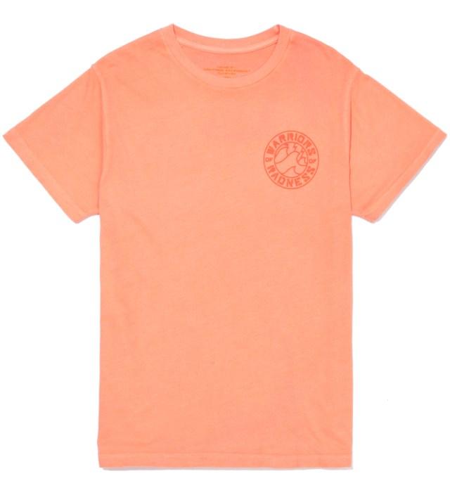 Warriors of Radness Neon Red Strikers Stencil T-Shirt
