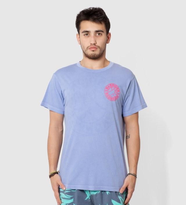 Warriors of Radness Light Blue Strikers Stencil T-Shirt