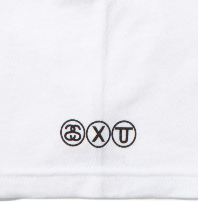 Stussy White Awesome T-Shirt