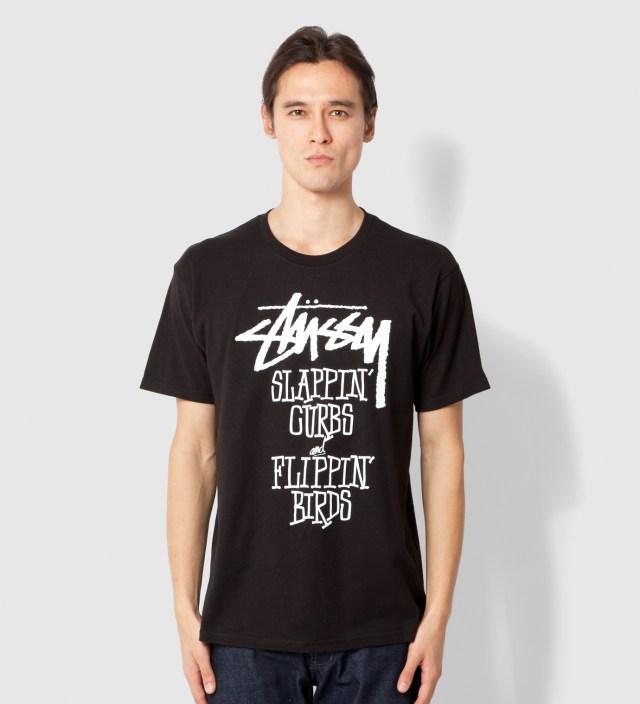 Stussy Black Slappin Curbs T-Shirt