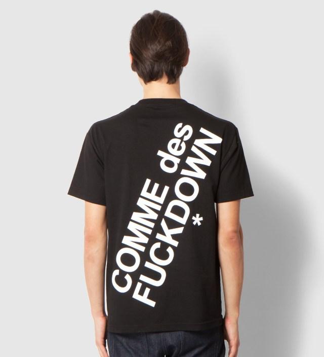 SSUR Black Comme des Fuckdown T-Shirt