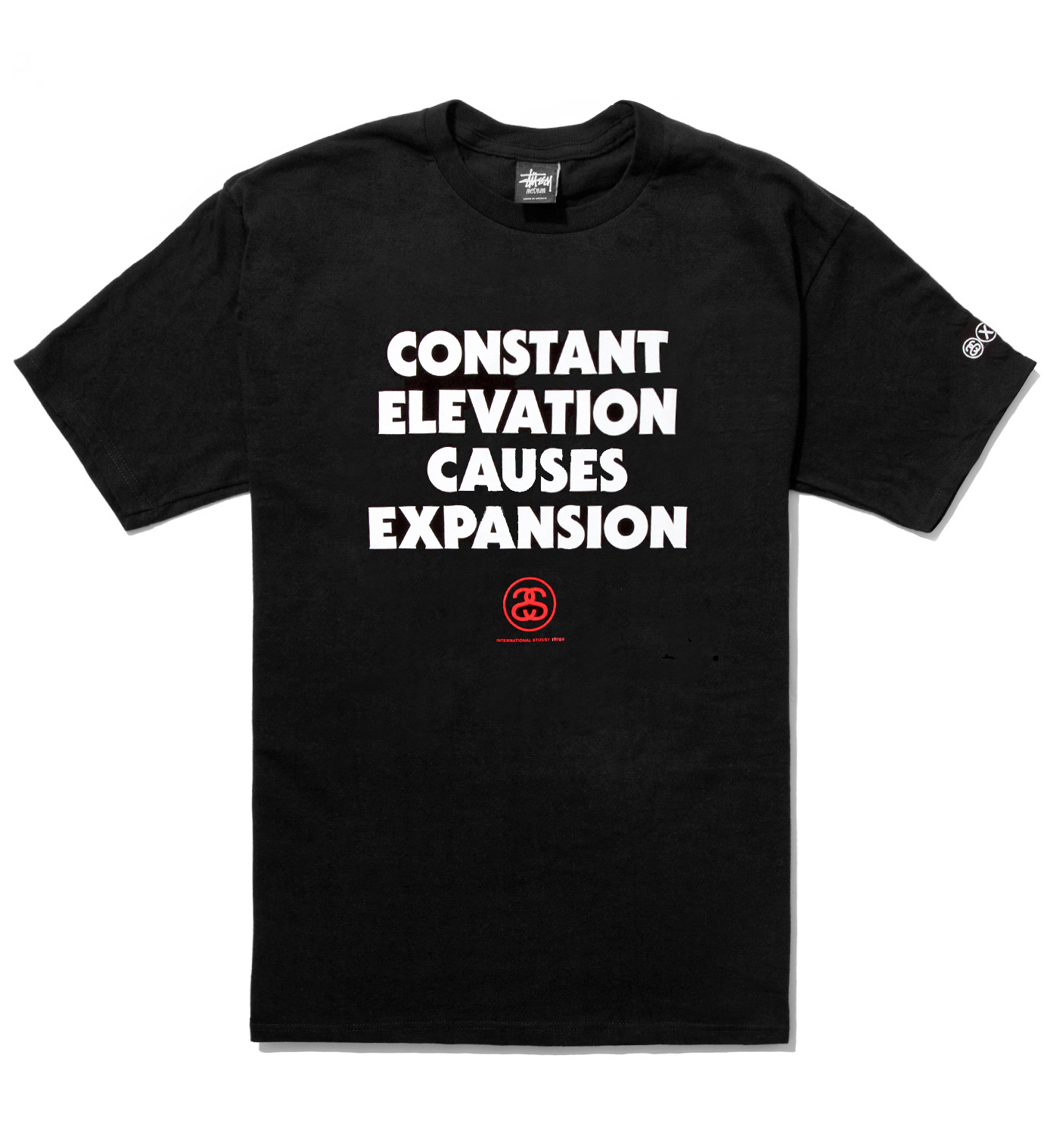 Stussy Black Elevation T-Shirt