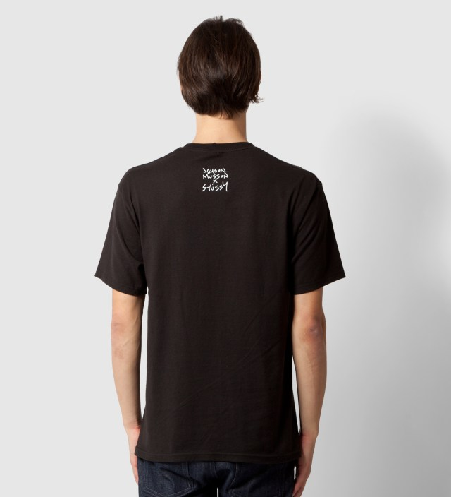 Stussy Black Dolphin Static T-Shirt