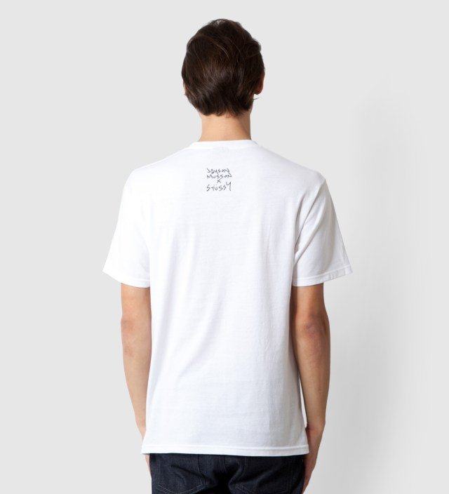 Stussy White Dolphin Static T-Shirt