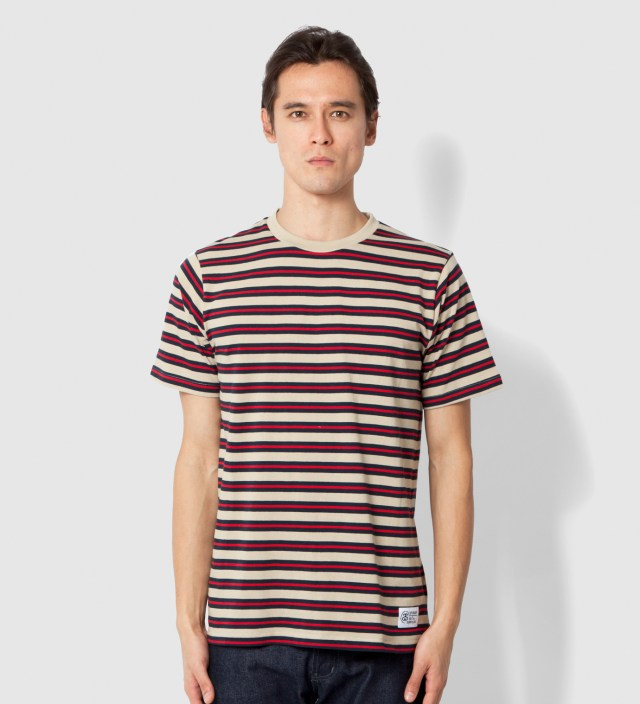 Stussy Red Stripes T-Shirt