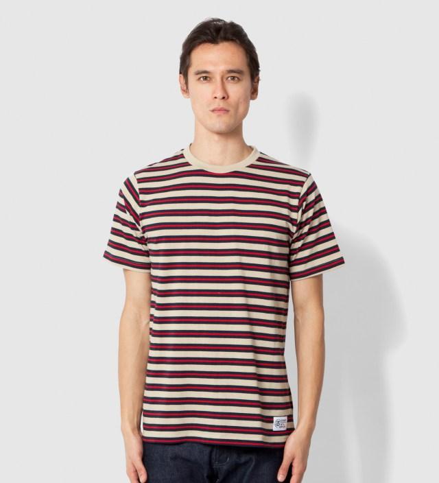 Stussy Red Stripes T-Shirt