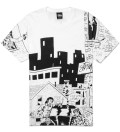 Stussy White Real Deal Alley T-Shirt