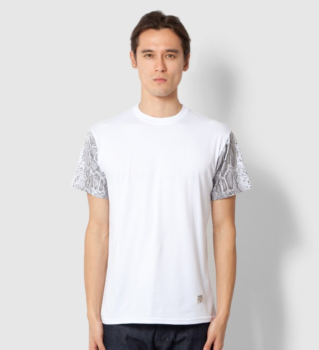 Mister Stevin Gold x Mister White Snake Sleeve T-Shirt