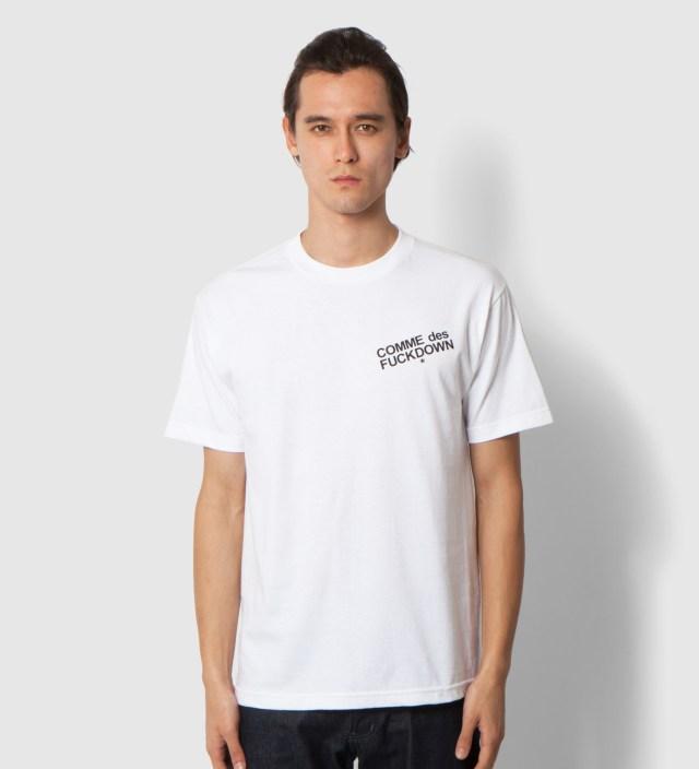 SSUR White Comme des Fuckdown T-Shirt