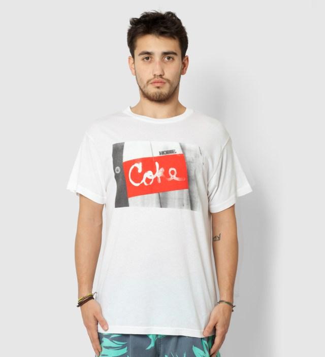 Warriors of Radness White Coke Surfboard T- Shirt