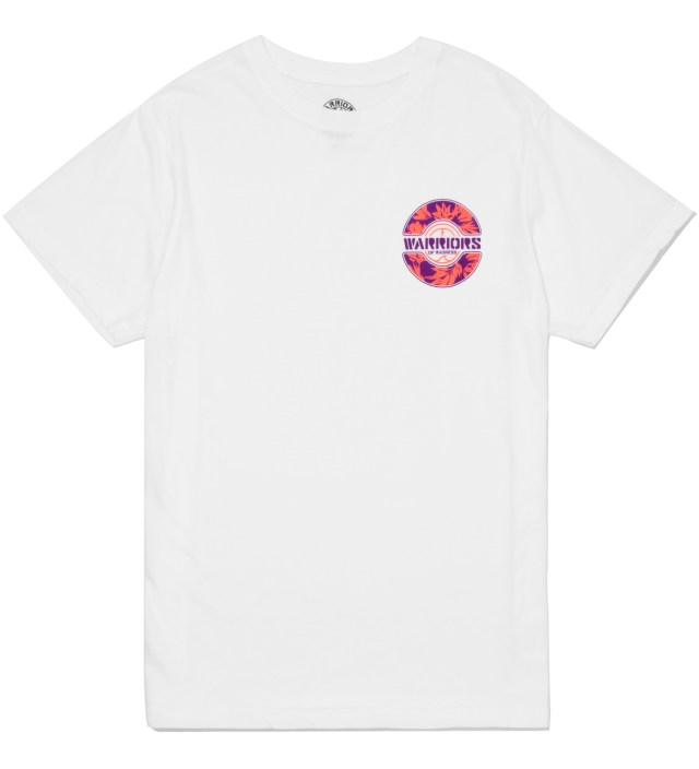 Warriors of Radness White Foliage Logo T-Shirt