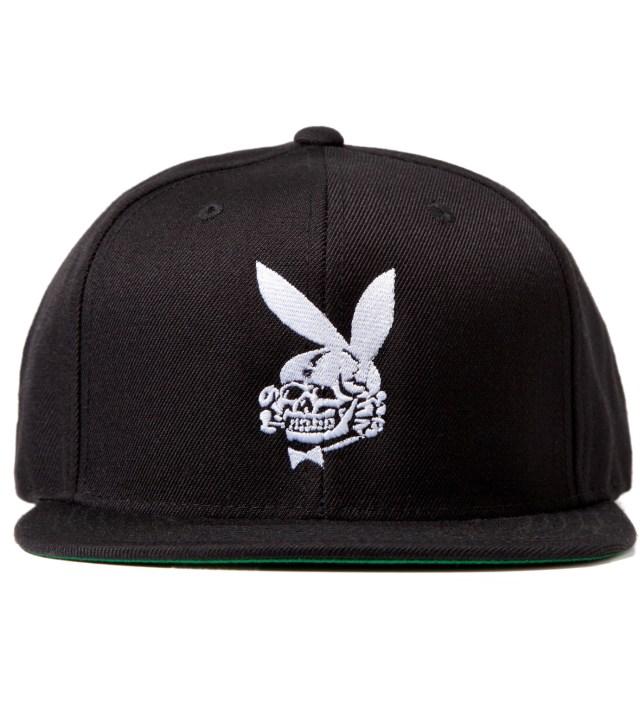 FUCT Black Death Bunny Snapback Cap