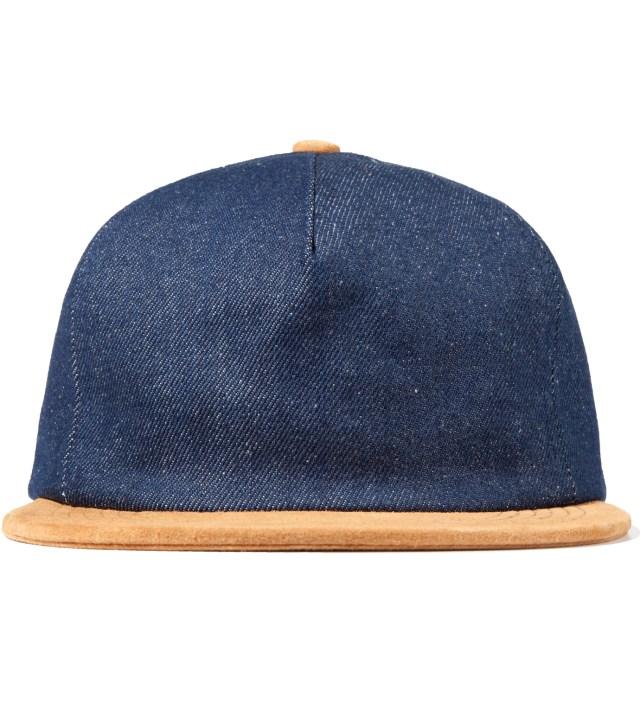 ONLY NY Raw Denim/Suede Denim Polo Hat