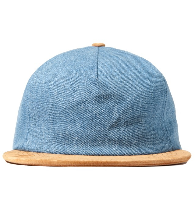 ONLY NY Light Denim/Suede Denim Polo Hat