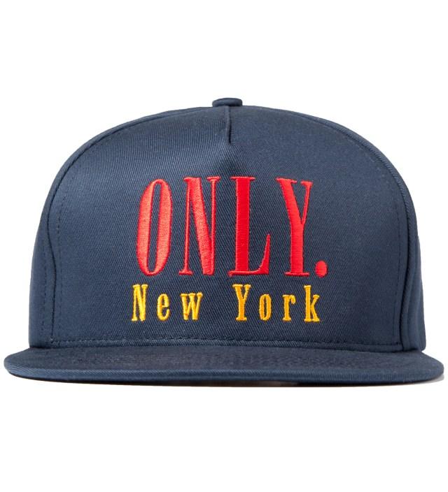 ONLY NY Navy Modern Snapback Cap