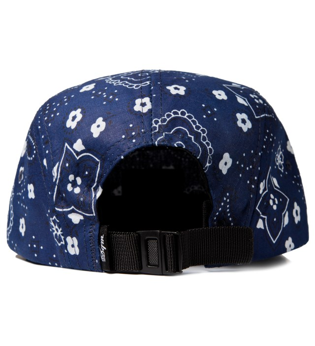 DQM Blue Bayou Bandana Print 5-Panel Camp Cap