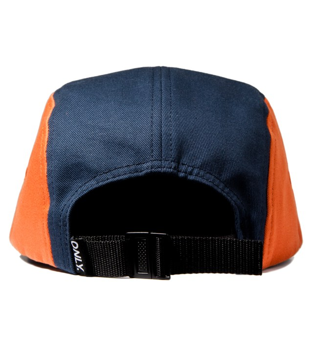 ONLY NY Navy/Pumpkin/Wine Tommy 5-Panel Cap