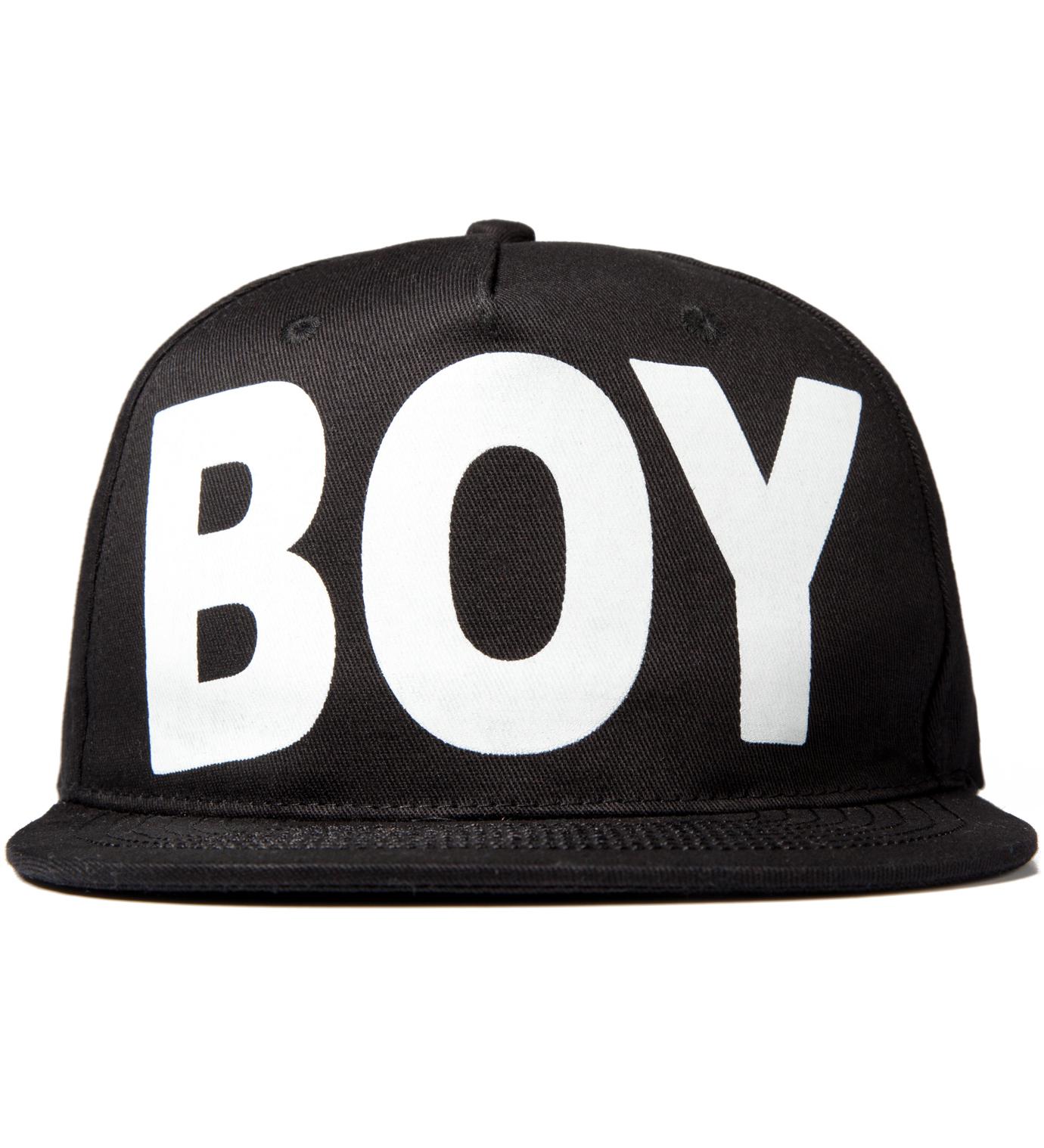 BOY London Black/White Boy London Snapback Cap