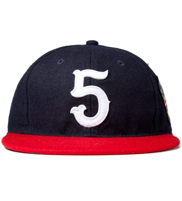 UNDEFEATED Navy No. 5 Ebbets Ballcap