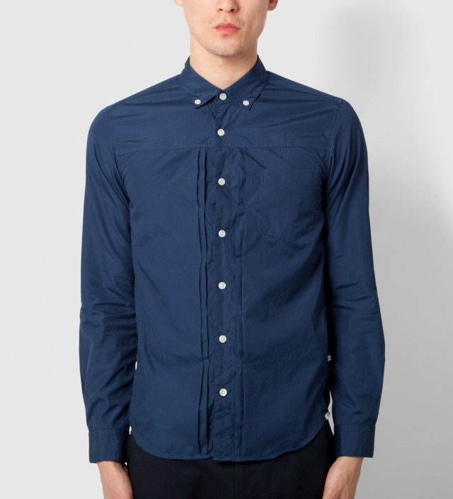 "DELUXE Deluxe for Hypebeast Navy ""Eric"" Shirt"