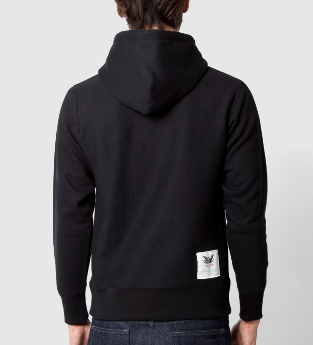 Mark McNairy for Heather Grey Wall Mark McNairy for Heather Grey Wall Black Fuck Ivy Hoodie