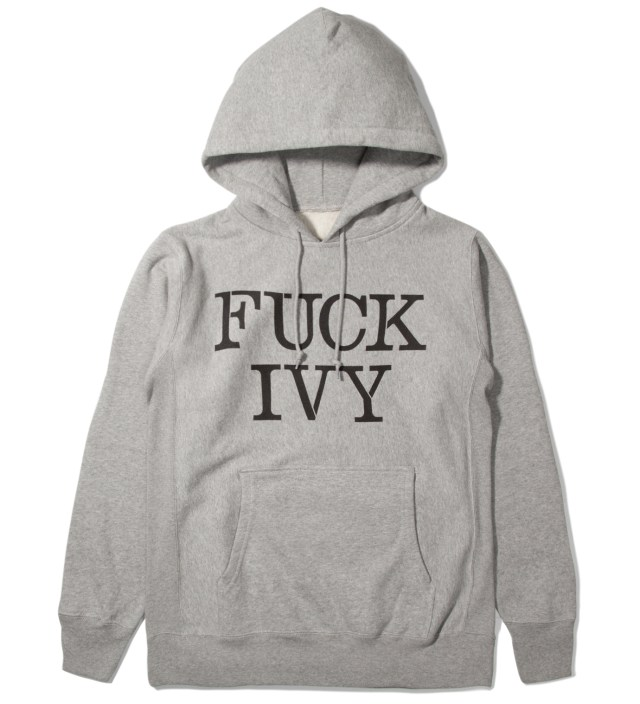 Mark McNairy Mark McNairy for Heather Grey Wall Grey Fuck Ivy Hoodie