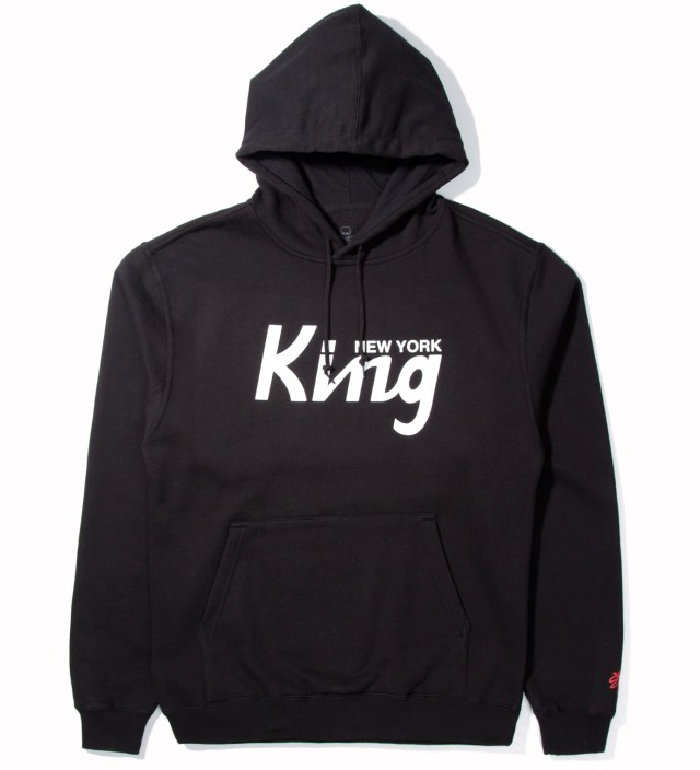 SSUR Black New York King Hoodie