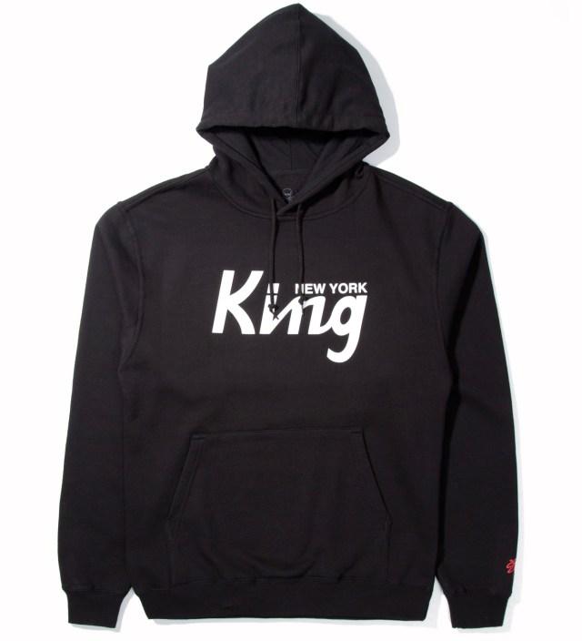 SSUR Black New York King Hoodie