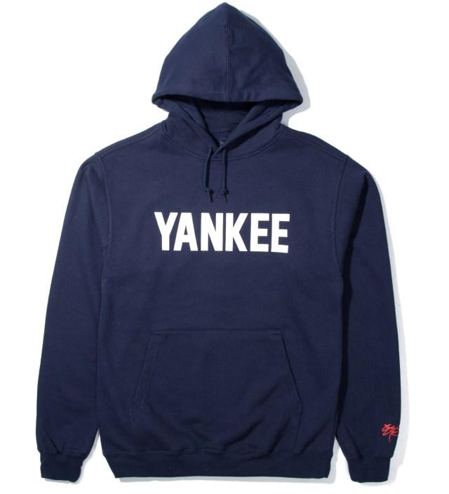 SSUR Navy Yankee Hoodie