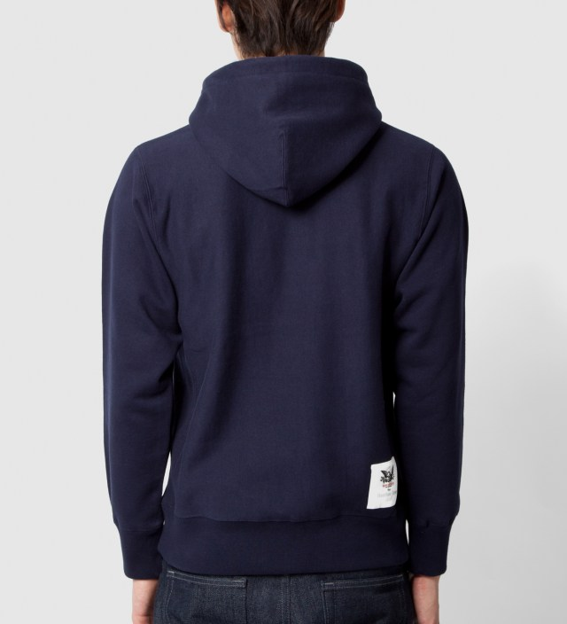 Mark McNairy Mark McNairy for Heather Grey Wall Navy Inferior Parka