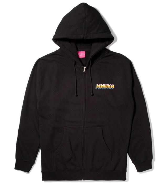 Mishka Black Choose Your Fighter Zip-Up Hoodie