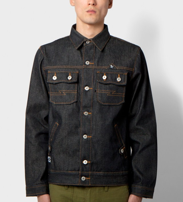 Us Versus Them Indigo Garner Denim Jacket