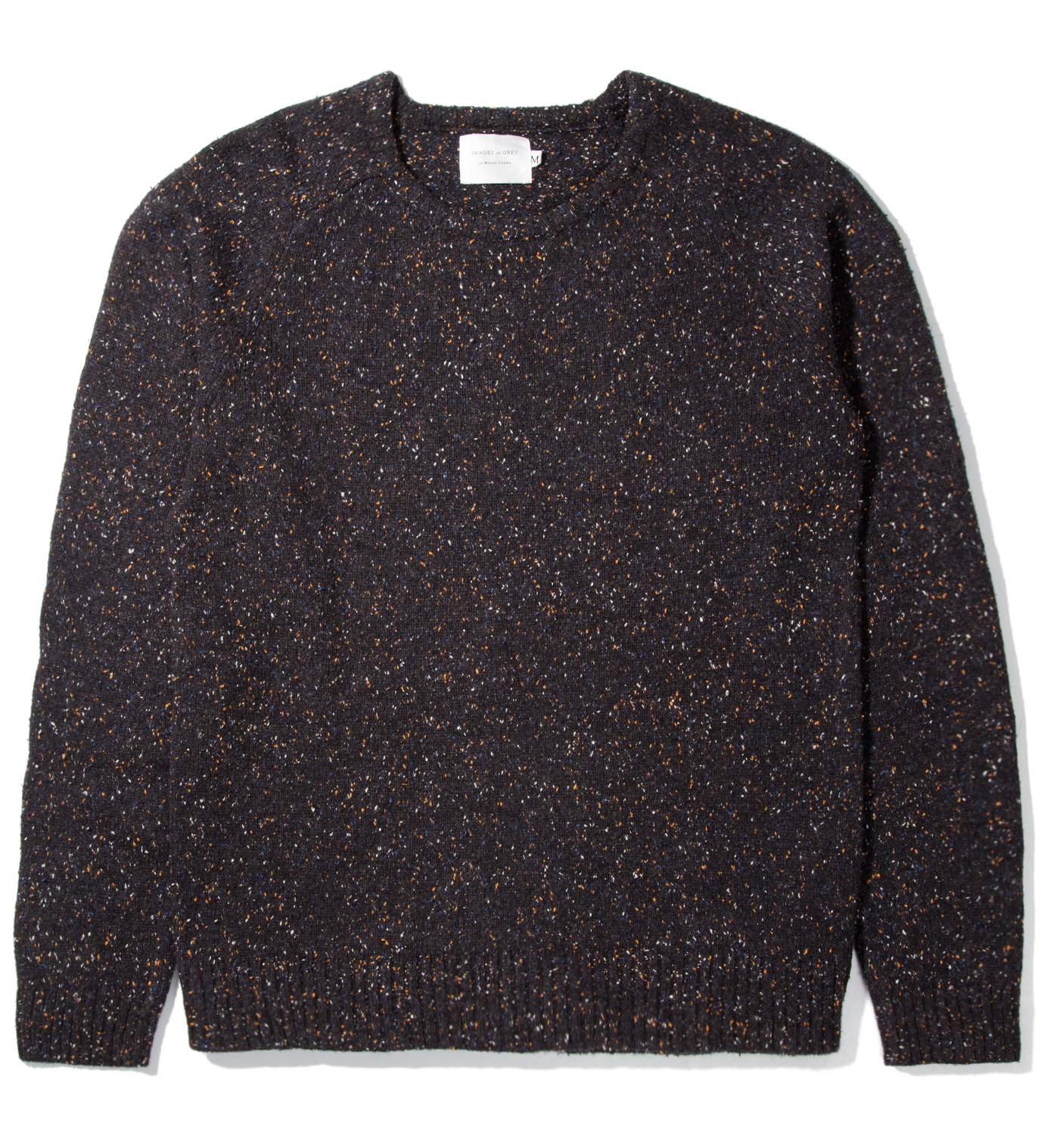 Shades of Grey by Micah Cohen Night Sky Marled Crewneck Sweater
