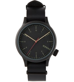 KOMONO Black Black Magnus Watch Picture