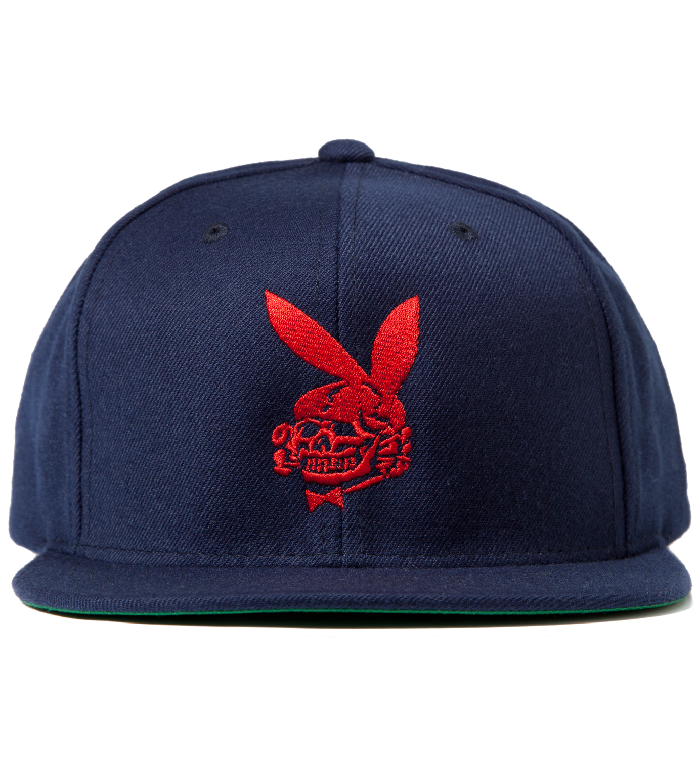 FUCT Blue Death Bunny Snapback Cap
