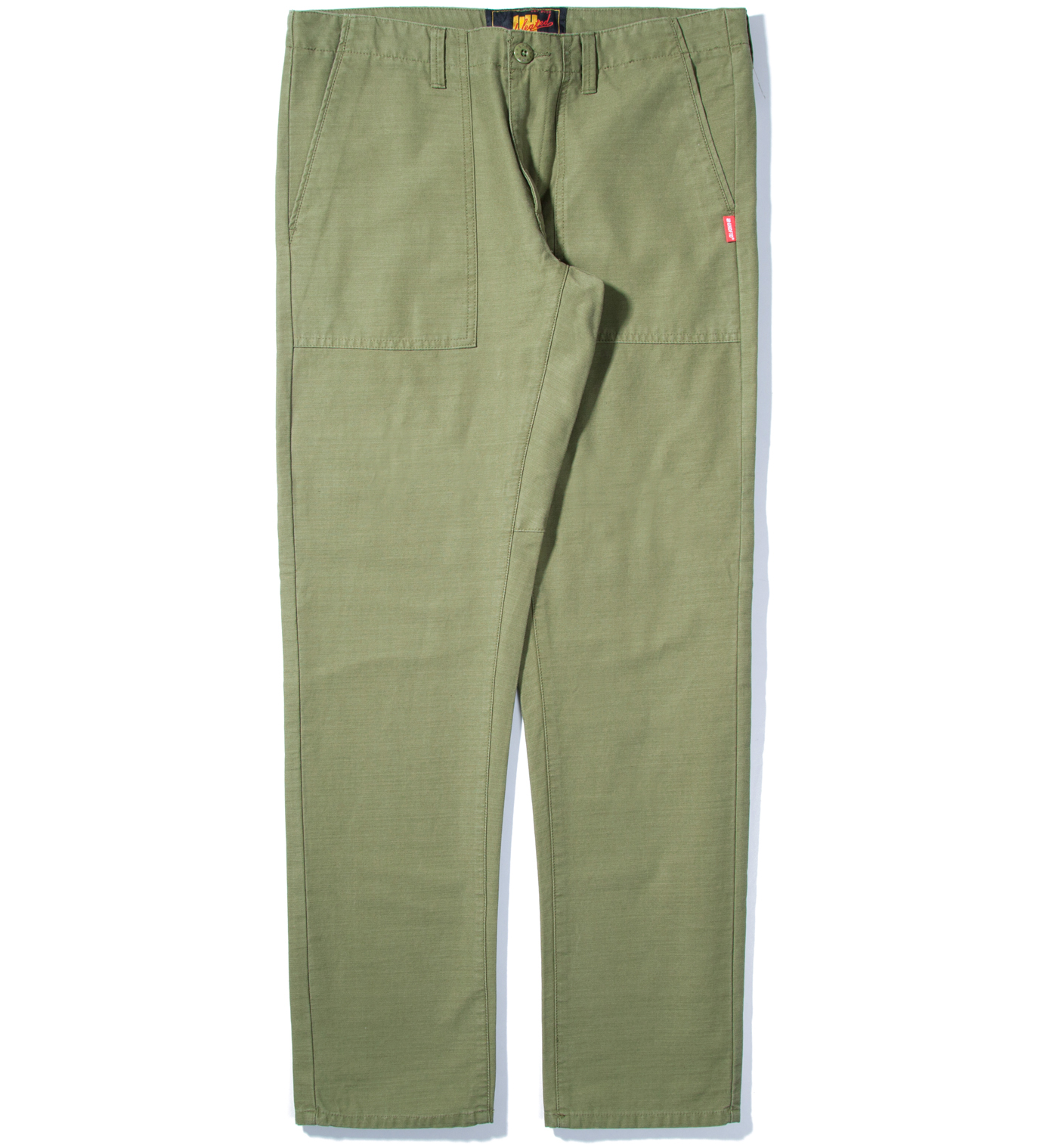 UNDEFEATED Olive Recon Chino Pant