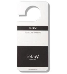 retaW Allen Room Tag Picture