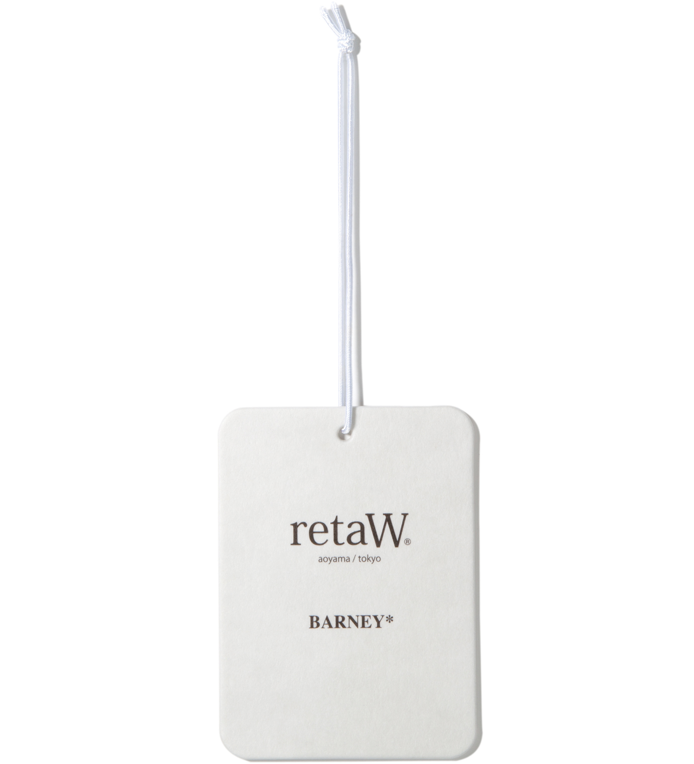 retaW Barney Fragrance Luggage Tag