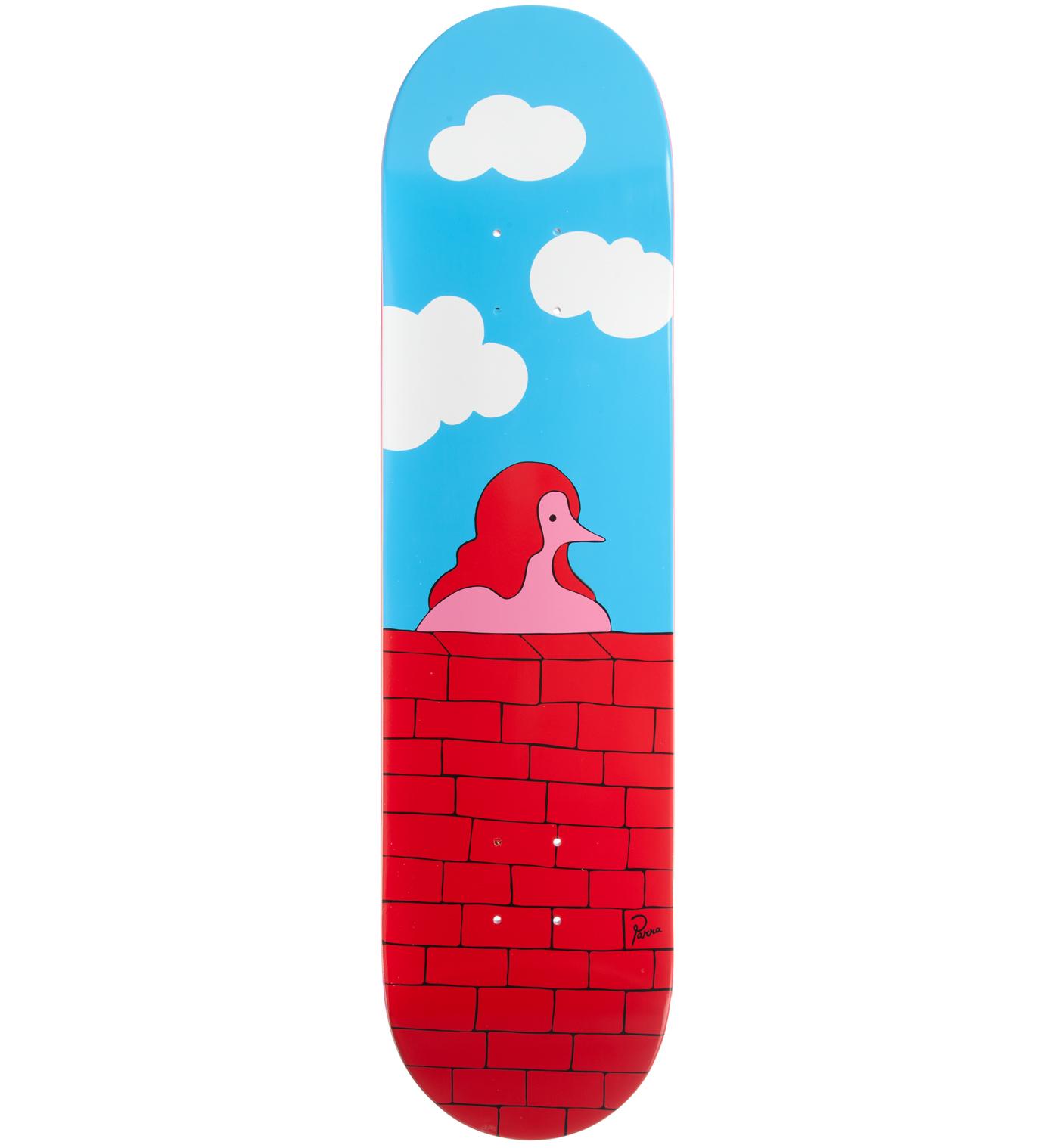 Parra Screenprinted Skatedeck