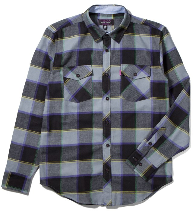Mishka Black Blockade Shirt