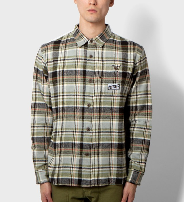 Us Versus Them Olive Beaumont Longsleeve Shirt