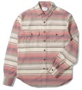 Shades of Grey by Micah Cohen Desert Stripe 2 Pocket Overshirt