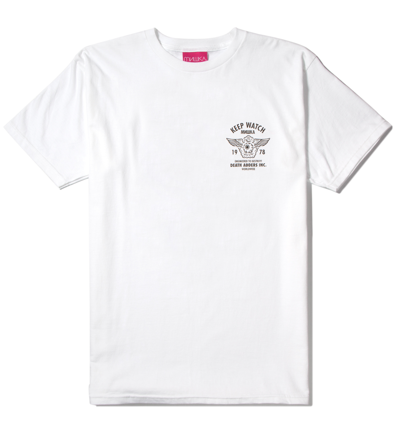 Mishka White Easy Rider T-Shirt
